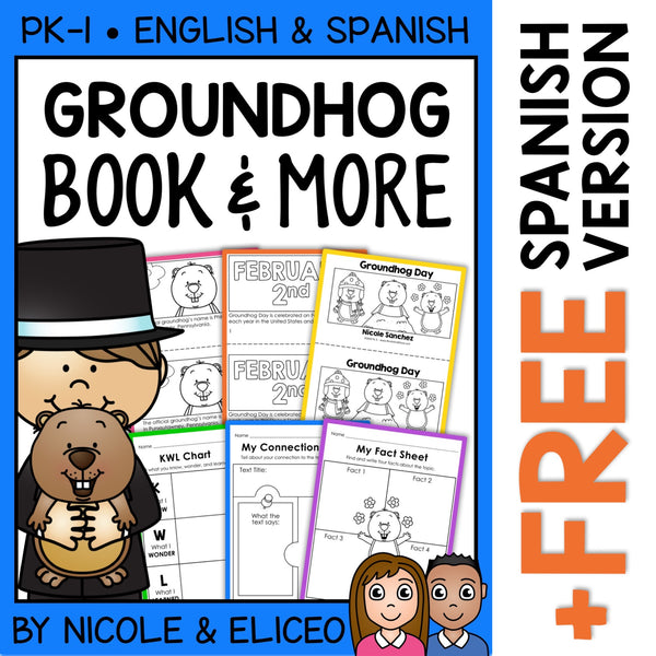 Groundhog Day Activities and Book