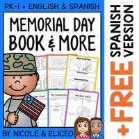 Memorial Day Activities and Book