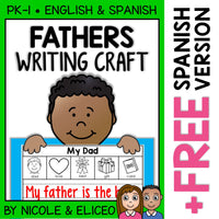 Fathers Day Writing Craft Activity