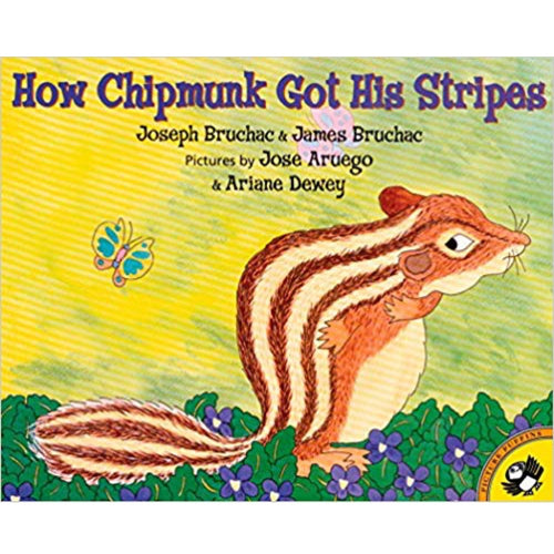 How Chipmunk Got His Stripes (Ages:5-8)