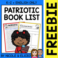 FREE Patriotic Activities and Book List