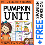 Pumpkin Activities Thematic Unit