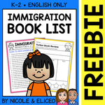 FREE Immigration Activities and Book List