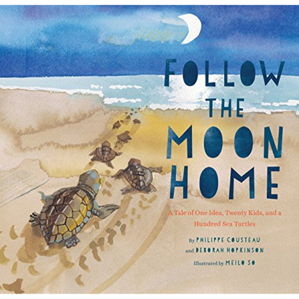 Follow the Moon Home (Ages:4-8)