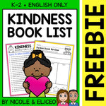 FREE Kindness Activities and Book List