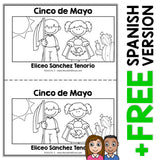 Cinco de Mayo Book Activity