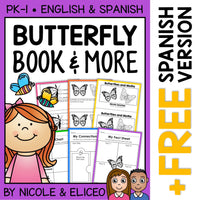 Butterfly Activities and Book