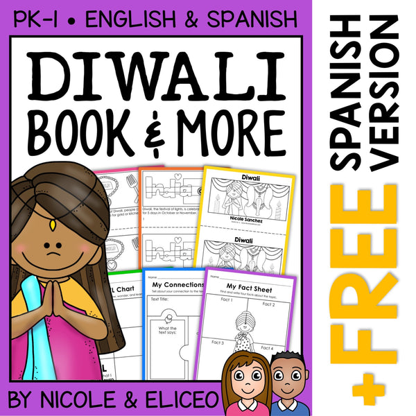 Diwali Book Activities and Book