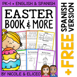 Easter Activities and Book
