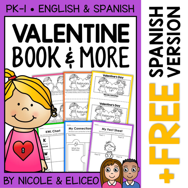 Valentines Day Activities and Book