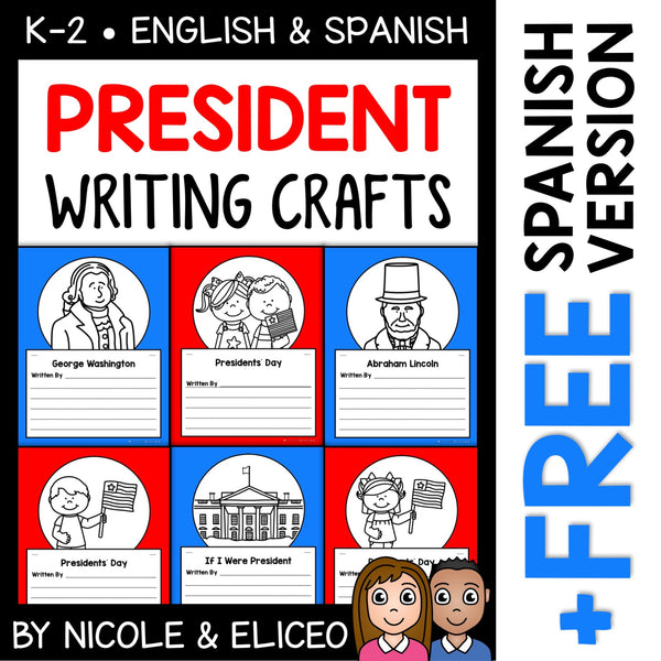 Presidents Day Writing Prompt Crafts
