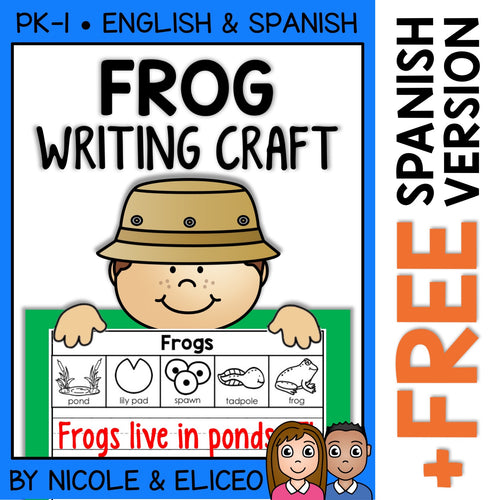 Frog Life Cycle Writing Craft Activity