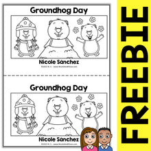 Load image into Gallery viewer, FREE Groundhog Day Book Activity