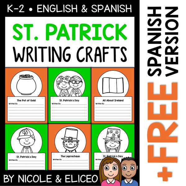 St Patricks Day Writing Prompt Crafts