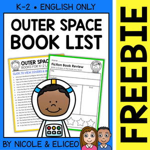 FREE Outer Space Activities and Book List