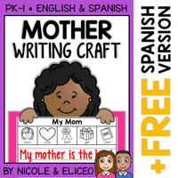Mothers Day Writing Craft Activity