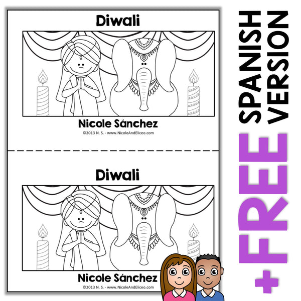 Diwali Book Activity