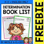 FREE Determination Activities and Book List