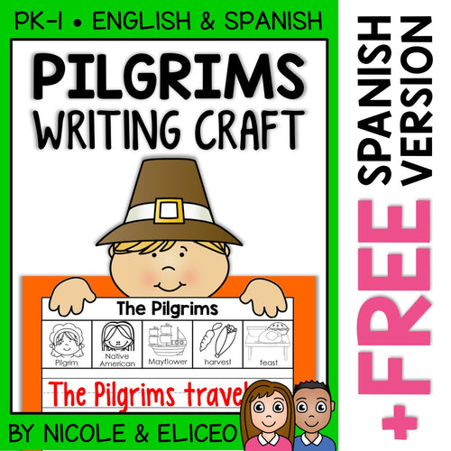 Pilgrim Writing Craft Activity
