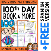 100th Day of School Activities and Book