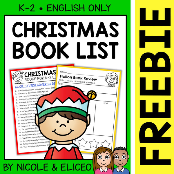 FREE Christmas Around the World Activities and Book List