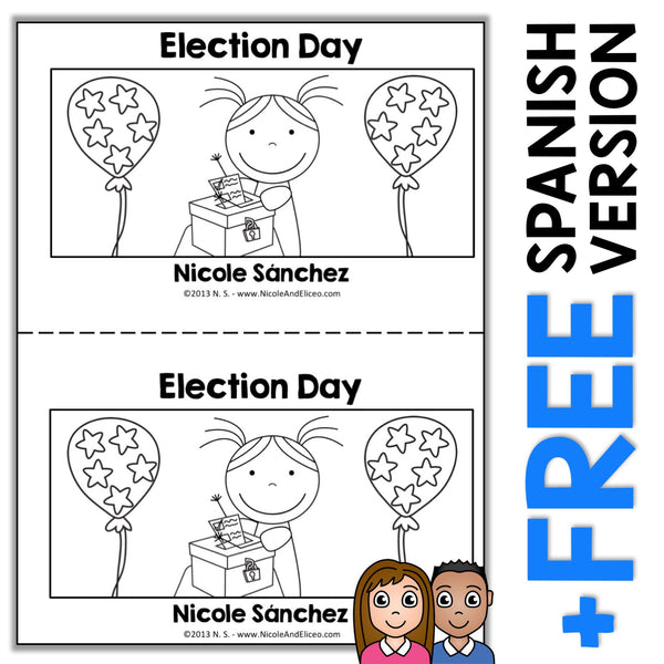 Election Day Book Activity