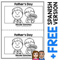 Fathers Day Book Activity