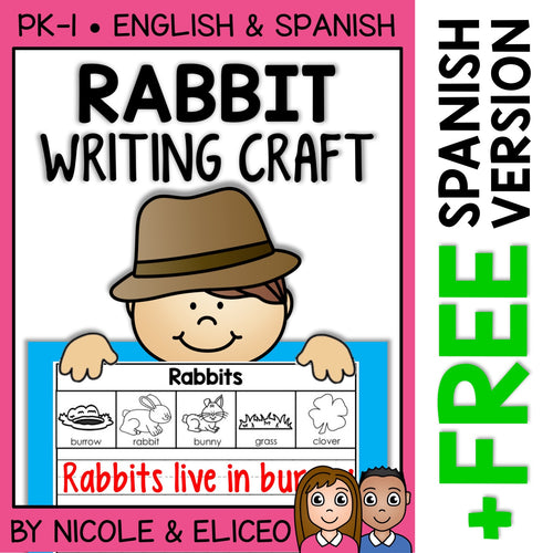 Rabbit Writing Craft Activity