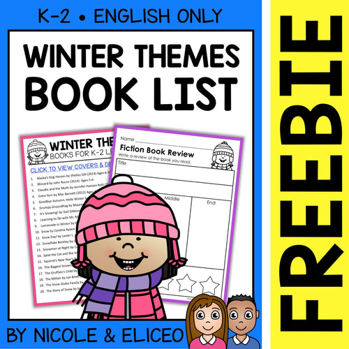 FREE Winter Activities and Book List