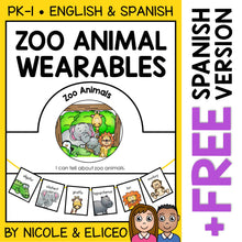 Load image into Gallery viewer, Zoo Animals Activity Crown and Necklace