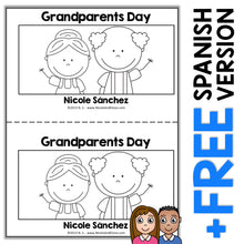 Load image into Gallery viewer, Grandparents Day Book Activity