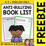 FREE Anti Bullying Activities and Book List