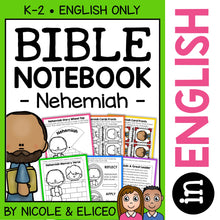Load image into Gallery viewer, Nehemiah Bible Lessons Notebook