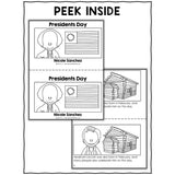 Presidents Day Book Activity