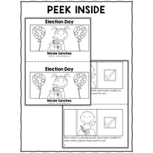 Load image into Gallery viewer, Election Day Activities and Book