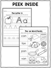 Load image into Gallery viewer, Preschool No Prep Literacy Packet