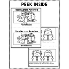 Load image into Gallery viewer, Read Across America Book Activity