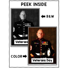 Load image into Gallery viewer, Veterans Day Close Reading Passage Activities