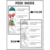 Winter Reading Comprehension Activity Puzzles