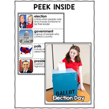 Load image into Gallery viewer, Election Day Activities Nonfiction Unit