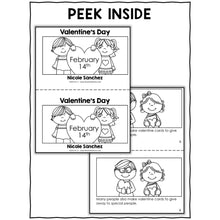Load image into Gallery viewer, Valentines Day Activities and Book