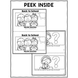 Back to School Book Activity