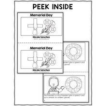 Load image into Gallery viewer, Memorial Day Activities and Book