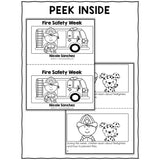 Fire Safety Week Book Activity