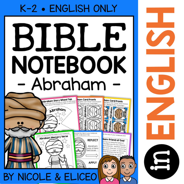 Abraham Bible Lessons Notebook