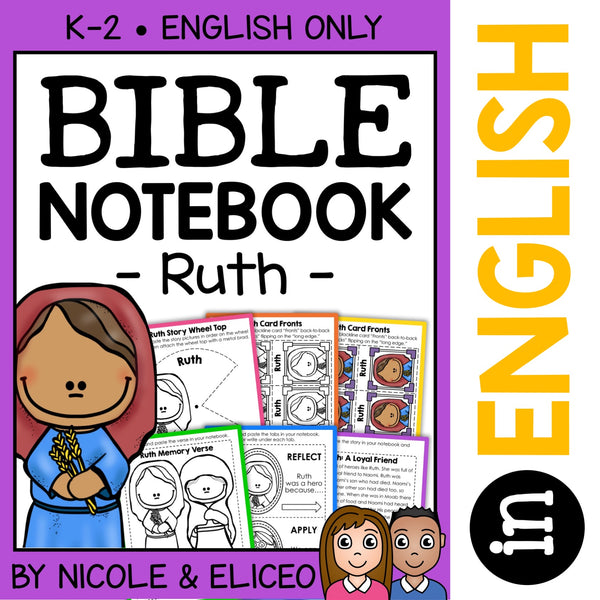 Ruth Bible Lessons Notebook