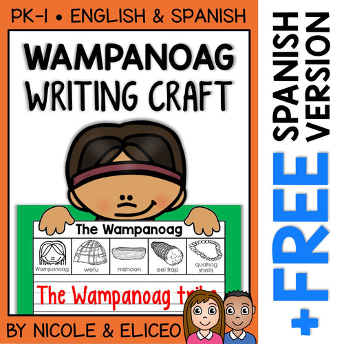 Wampanoag Writing Craft Activity