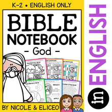 Load image into Gallery viewer, God Bible Lessons Notebook