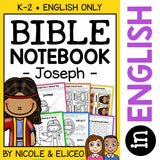 Joseph and the Coat Bible Lessons Notebook