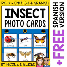 Load image into Gallery viewer, Insect Pocket Chart Center